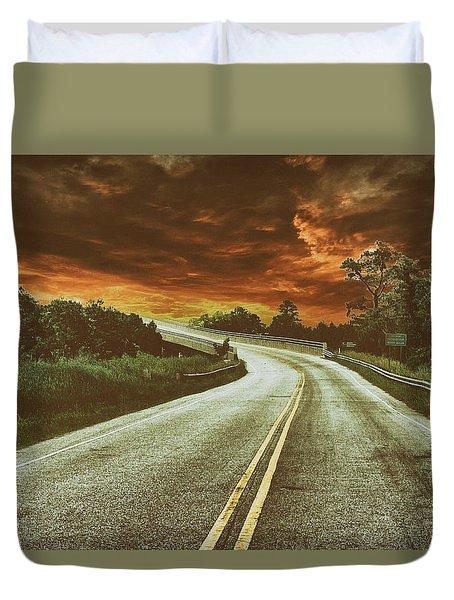 Highway Classic 1 Duvet Cover