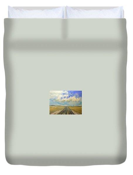 Highway Duvet Cover