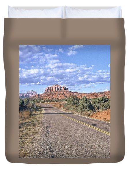 Highway To Sedona Duvet Cover