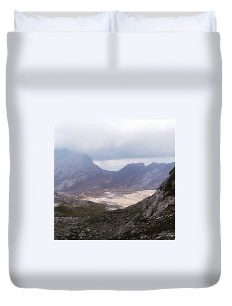 Hiking In The Picos De Europa, Spain Duvet Cover