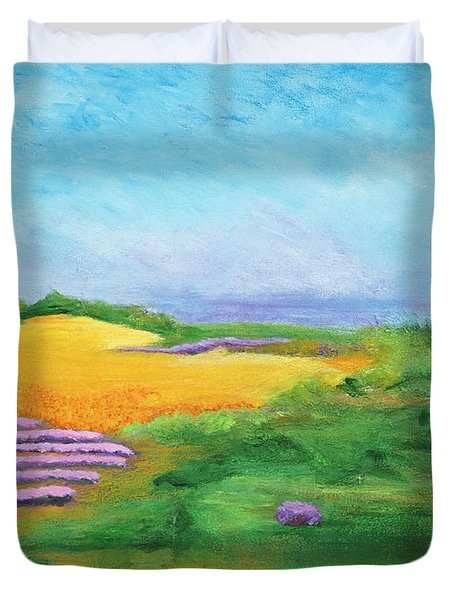 Hill Country Beauty Duvet Cover