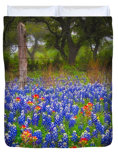 Hill Country Forest Duvet Cover
