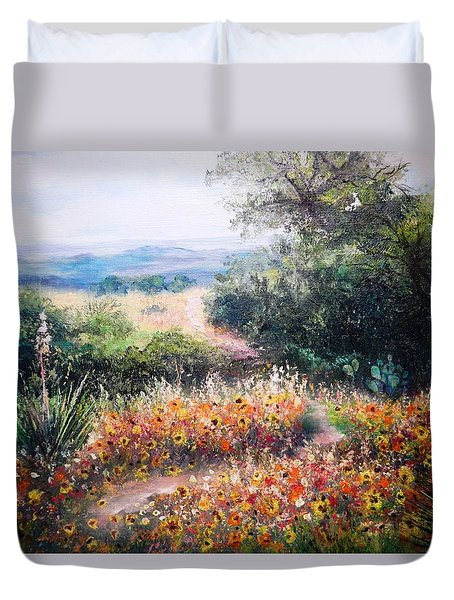 Hill Country Gone Wild Duvet Cover