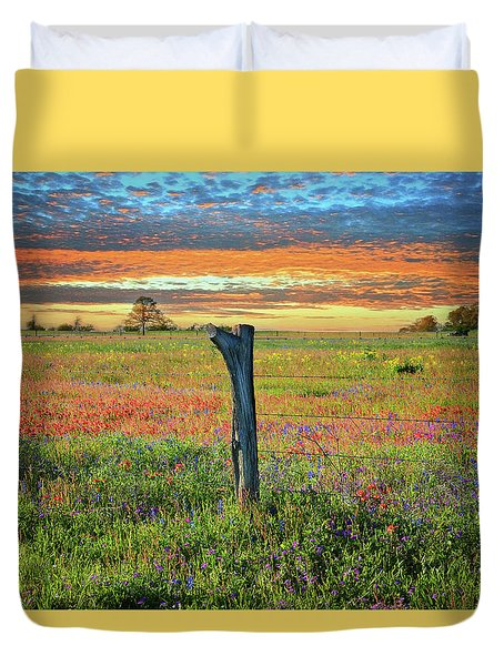 Hill Country Heaven Duvet Cover
