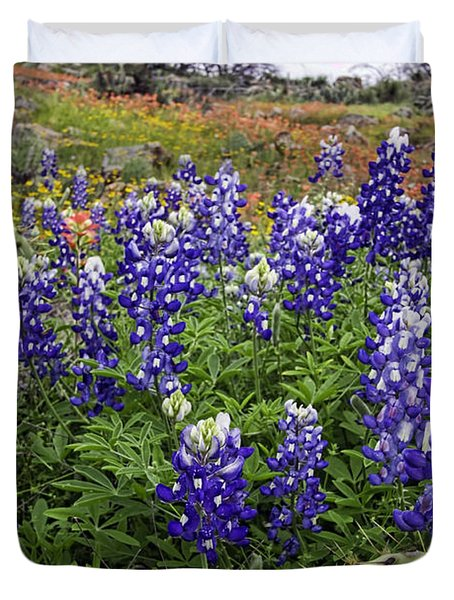 Hill Country Palette Duvet Cover