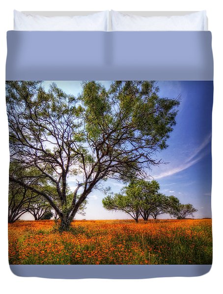 Hill Country Spring Duvet Cover