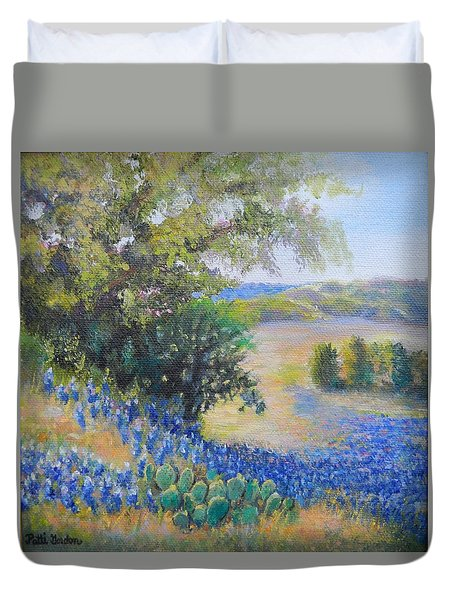 Hill Country View Duvet Cover