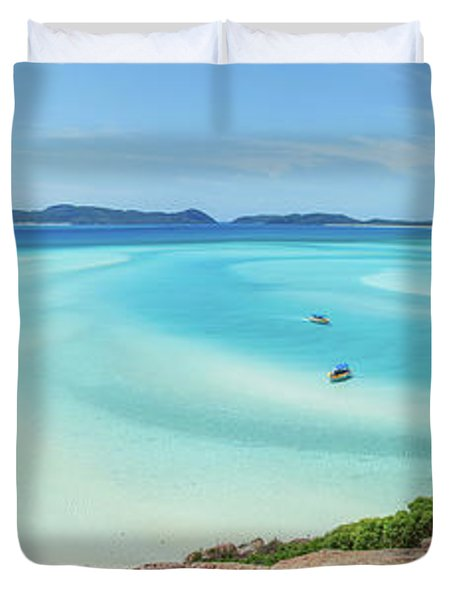 Hill Inlet Lookout Duvet Cover