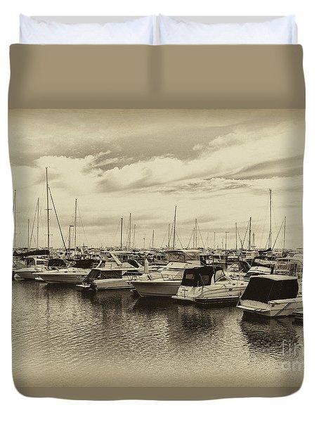 Hillarys Boat Harbour, Western Australia Duvet Cover