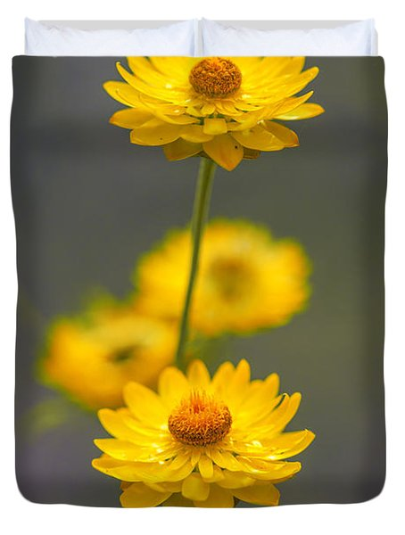 Hillflowers Duvet Cover