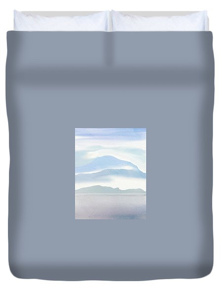 Hills In Borneo Duvet Cover