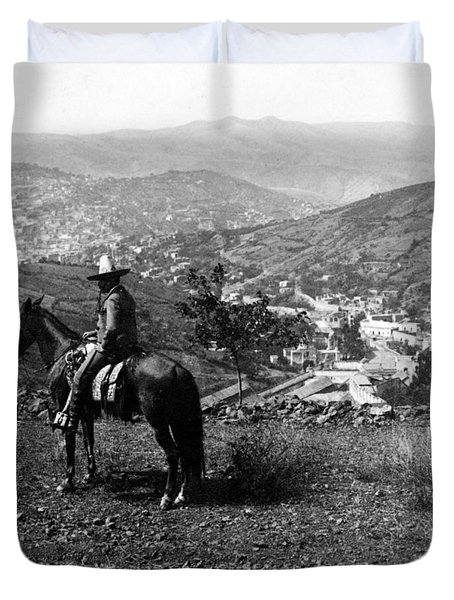 Hills Of Guanajuato - Mexico - C 1911 Duvet Cover by International  Images