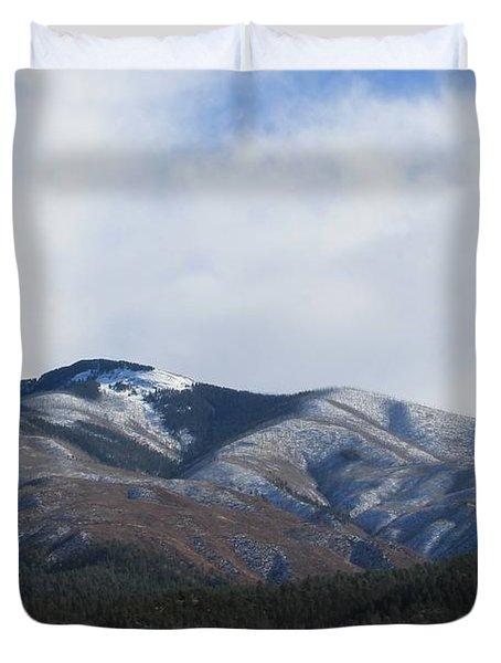 Hills Of Taos Duvet Cover