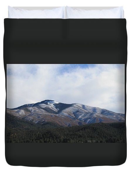 Hills Of Taos Duvet Cover