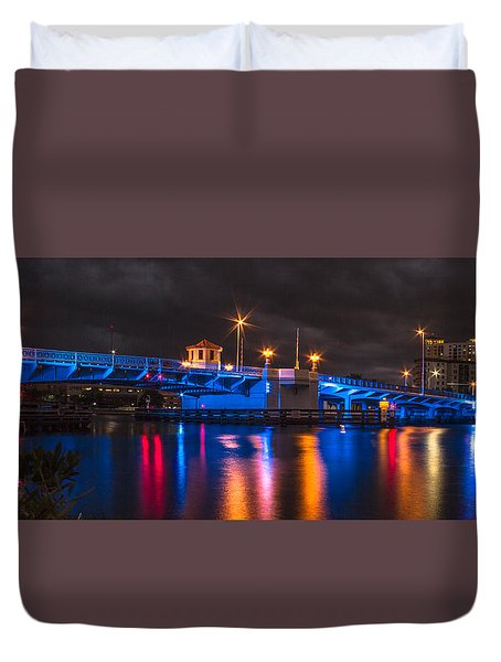 Hillsborough River Duvet Cover