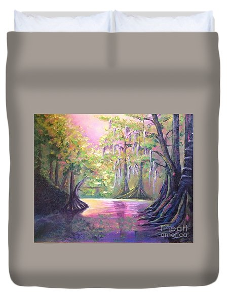 Withlacoochee River Nobleton Florida Duvet Cover