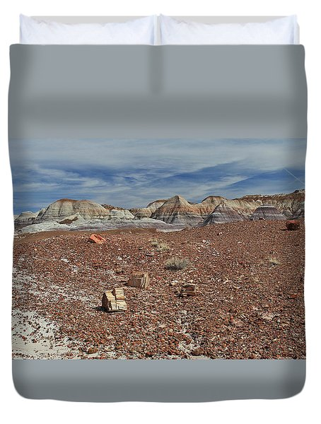 Hillside Hues Duvet Cover
