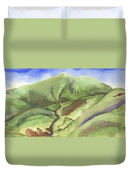 Hillside Panorama Duvet Cover