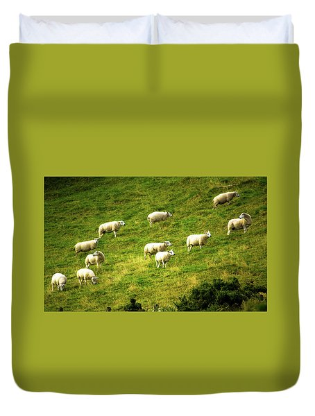 Hillside Pasture Duvet Cover