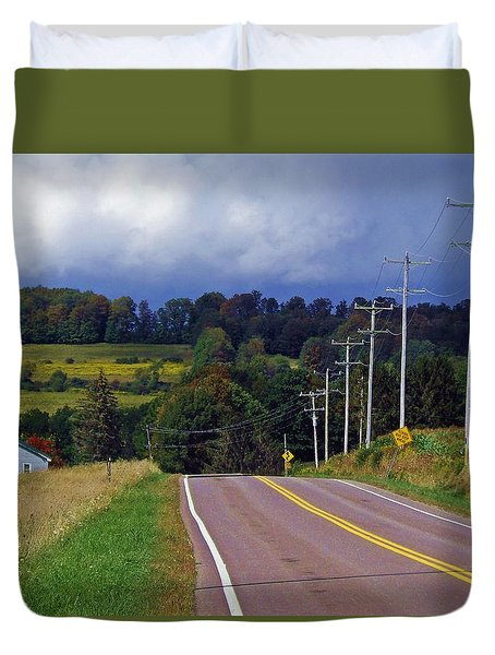 Hillside Ways Duvet Cover
