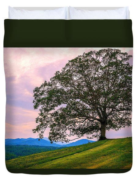 Hilltop Oak Duvet Cover