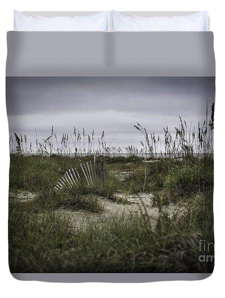 Hilton Head Duvet Cover by Judy Wolinsky