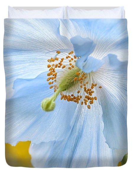 Himalayan Poppy Duvet Cover
