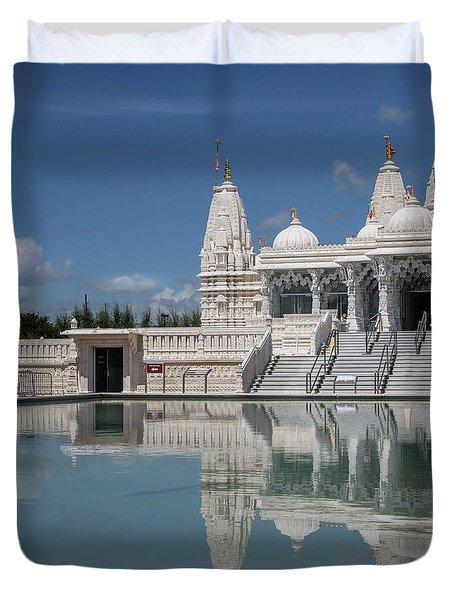 Hindu Temple Duvet Cover