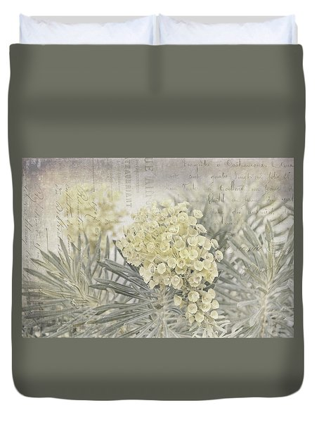 Hint Of Color Duvet Cover