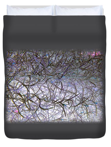 Hint Of Colour Duvet Cover