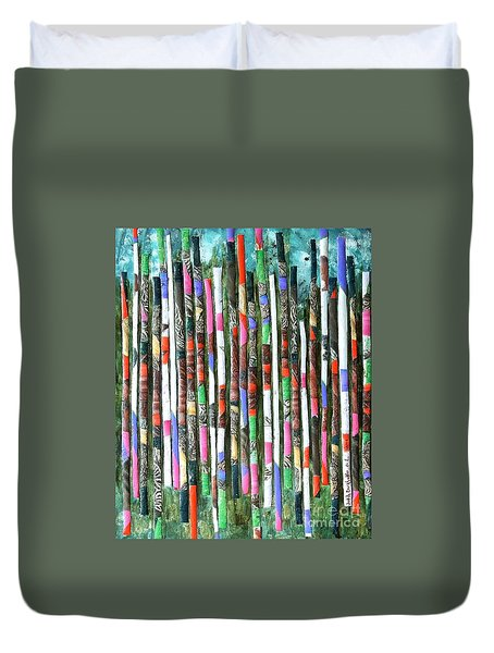 Hint Of Tiger - Sold Duvet Cover