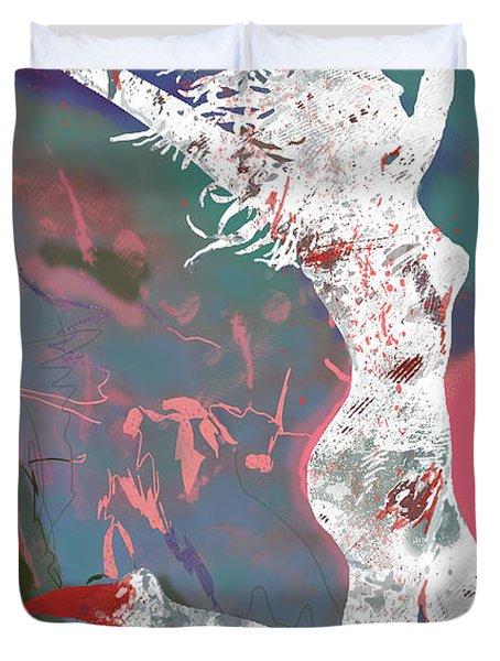 Hip Hop Street Dancing  New Pop Art Poster   Duvet Cover