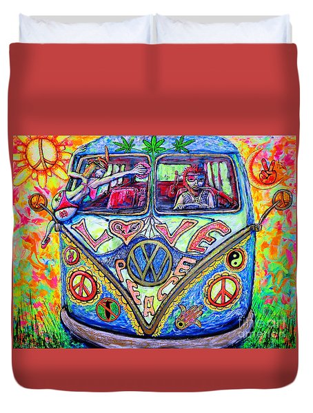 Hippie Duvet Cover