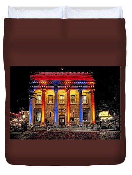 Hippodrome In Color Duvet Cover