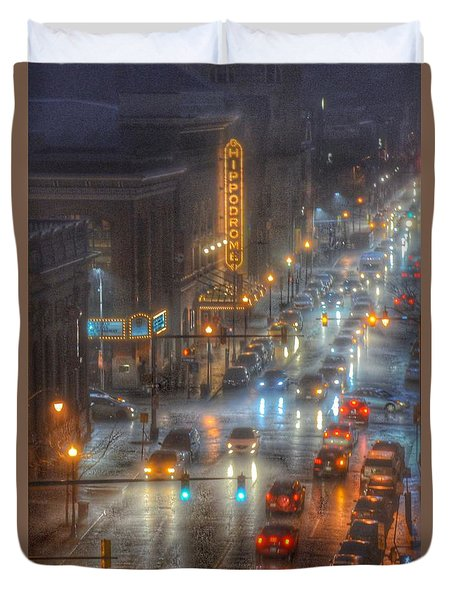 Hippodrome Theatre - Baltimore Duvet Cover