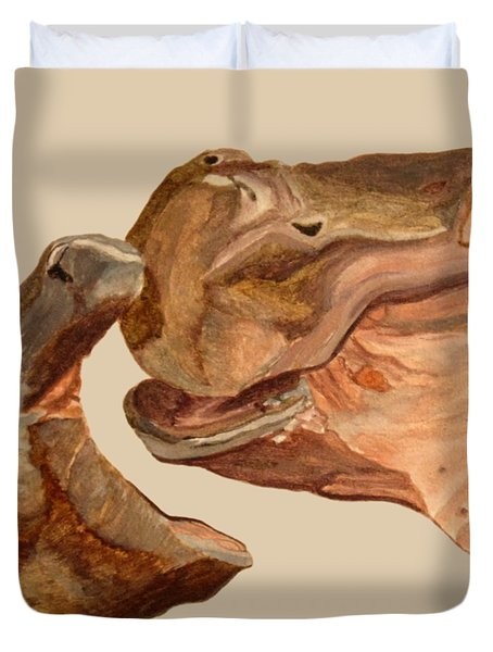 Hippos Duvet Cover