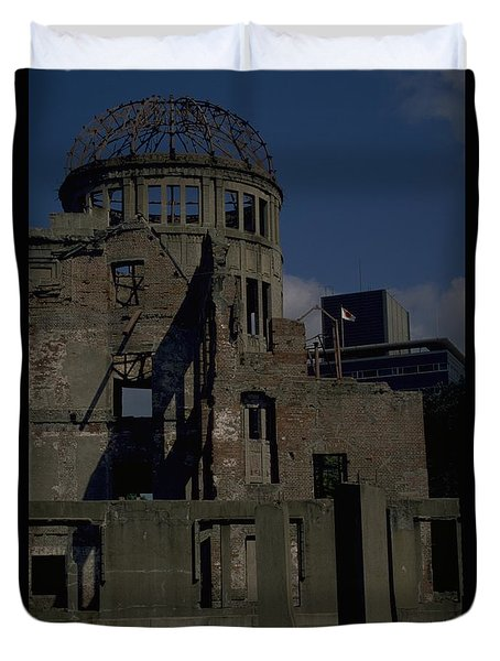 Duvet Cover featuring the photograph Hiroshima Peace Memorial by Travel Pics
