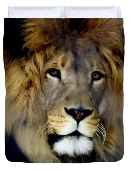 His Majesty The King Duvet Cover