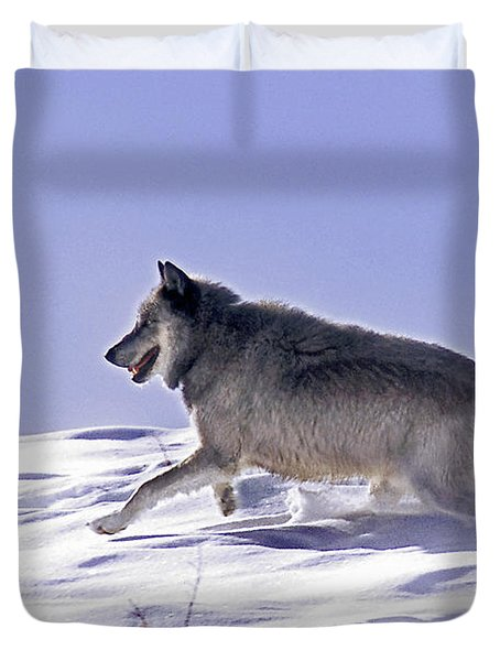 His Majesty Wolf 21m Duvet Cover