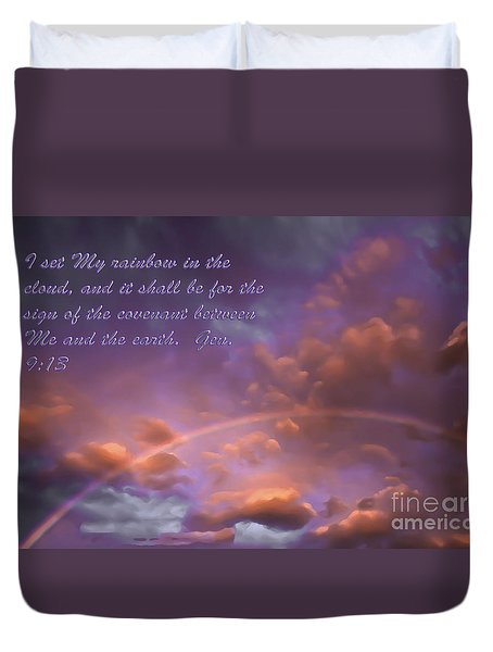 His Promise Duvet Cover