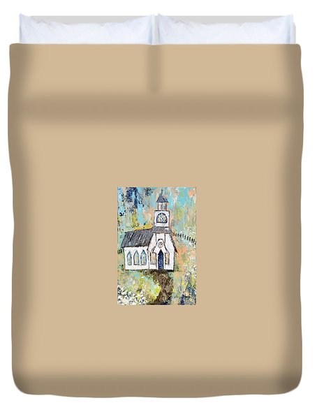 His Purpose Will Prevail Duvet Cover