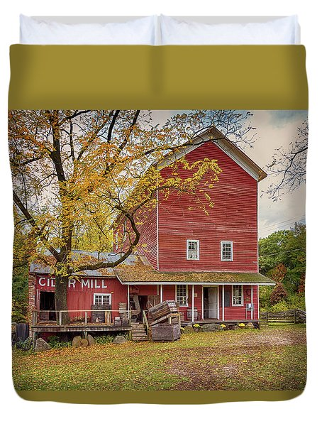 Historic Bowens Mills Duvet Cover