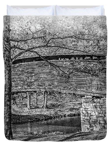 Historic Bridge Duvet Cover