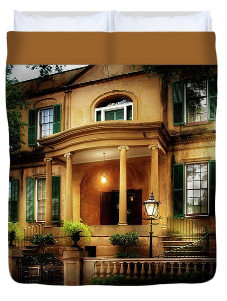 Historic Carriage House Duvet Cover