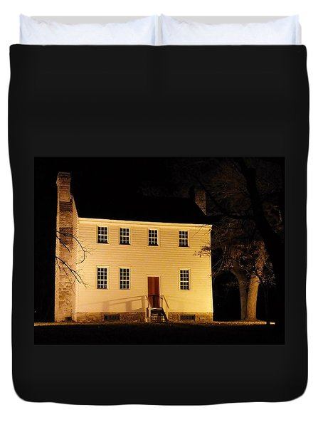 Historic Carter Mansion  Duvet Cover