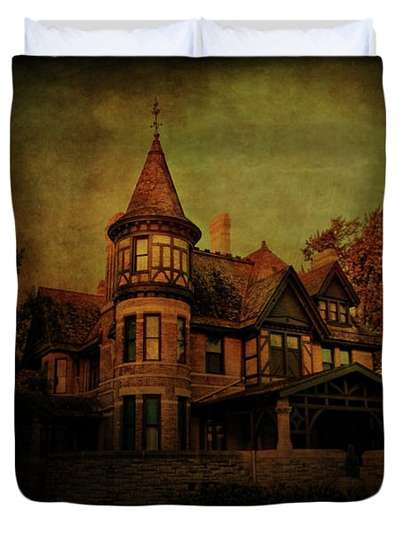 Historic House Duvet Cover by Joel Witmeyer