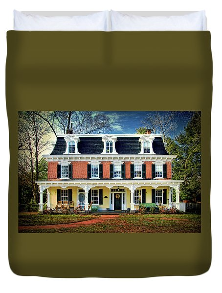Historic Isaac Stover House  Duvet Cover
