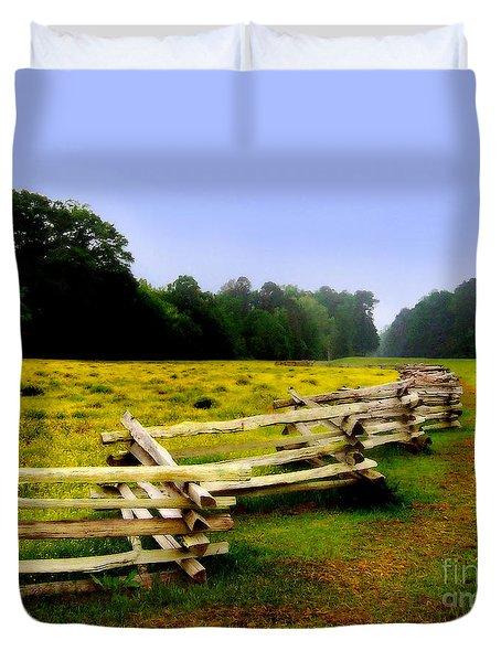 Historic Path Natchez Trace Parkway Duvet Cover