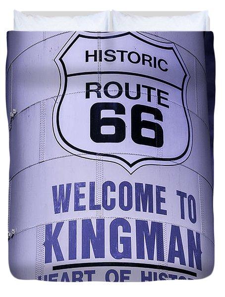 Historic Route 66 Duvet Cover