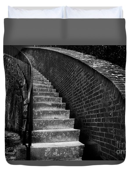 Historic Stairwelll Duvet Cover